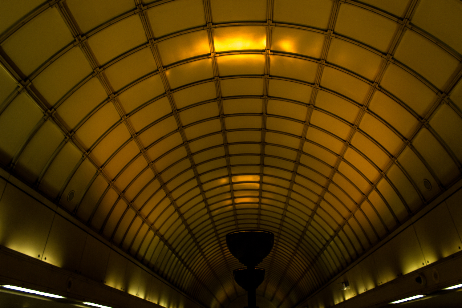 Professional Photography Interior Arch Architecture In Gants Hill Train Station London