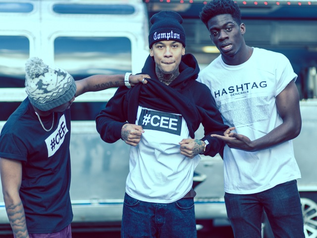 Professional Photography Three Black Men Wearing Black And White Hashtagcee And Generals T-Shirts And Hoodies