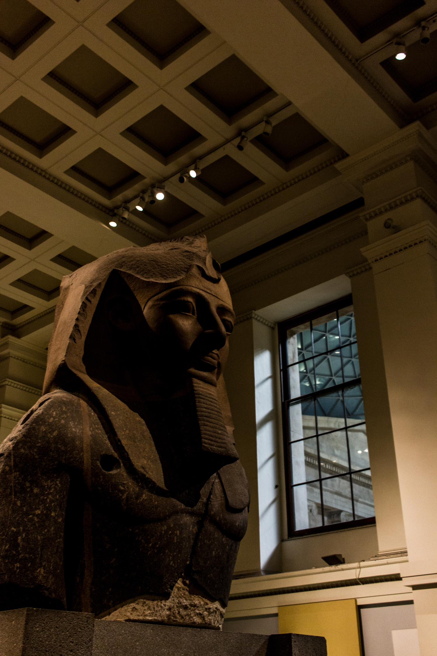 Professional Photography Stone Sculpture From Kemet Egypt Of King Ramses II In British Museum London